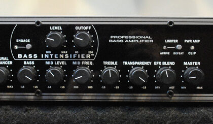 SWR Workingpro 400 Bass Amp
