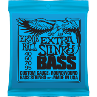 ERNIE BALL EXTRA SLINKY BASS NICKEL WOUND