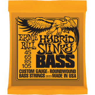ERNIE BALL HYBRID SLINKY BASS NICKEL WOUND