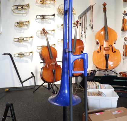 Plastic TrombaPro Trombone, (flere farver)