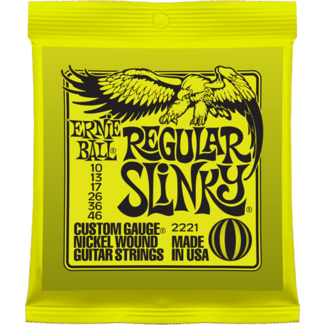 Ernie Ball Regular Slinky Nickel Wound Guitar Strings