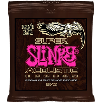 ERNIE BALL SUPER SLINKY ACOUSTIC PHOSPHOR BRONZE