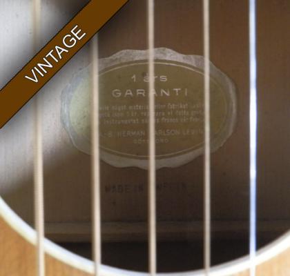 Vintage Levin Spanish Guitar +