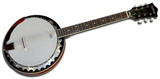 Ashbury 6-strenget banjo.