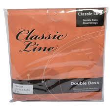 Classic Line (Gewa) kontrabasstrenge, sæt.