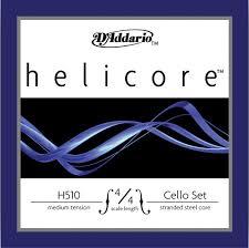 Helicore (Dáddario) cellostrenge, sæt.