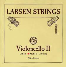 Larsen cellostrenge, sæt.