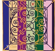 Passione (Pirastro) kontrabasstrenge, sæt.