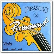 Permanent (Pirastro) violastrenge, sæt.