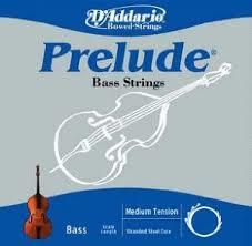 Prelude (Dáddario) kontrabasstrenge, sæt.