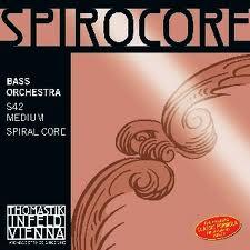 Spirocore (Thomastik) kontrabasstrenge, sæt.