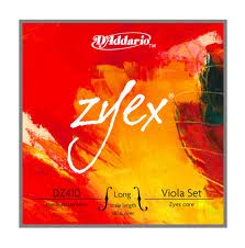 Zyex (D´addario) violastrenge, sæt.