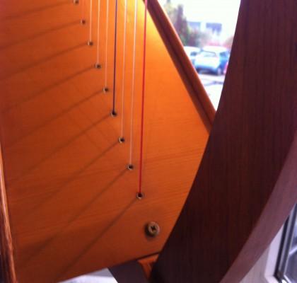 Keltisk harpe, 3 oktaver.