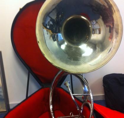 Sousaphone, brugt. Eb