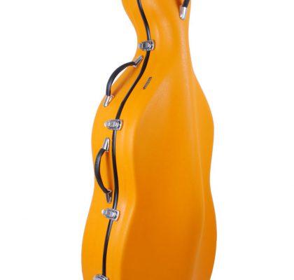 Tonareli cellokasse, fiberglas m. hjul. pt. ikke på lager.