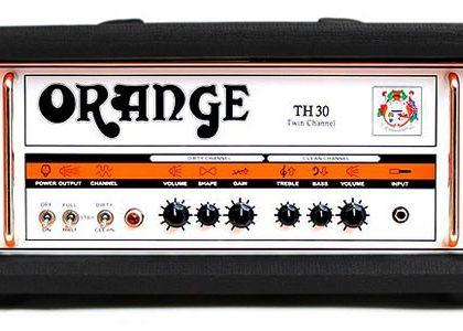 Orange TH 30 twin channel guitaramp.