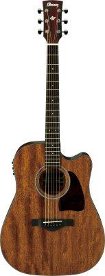 Ibanez akk. guitar AW54CE-OPN
