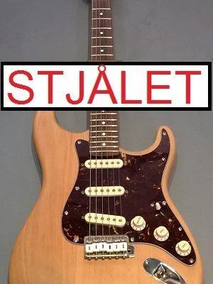 Chandler Stratocaster (USA) – STJÅLET
