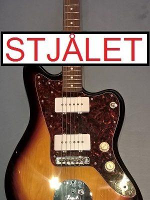 Fender Jazzmaster m. bag – STJÅLET