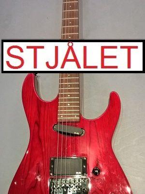 ESP M-II Deluxe m. case – STJÅLET