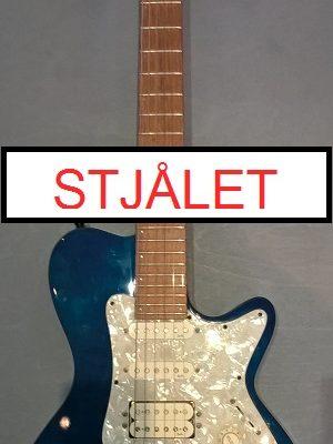 Godin LGT (blå) m. gigbag STJÅLET