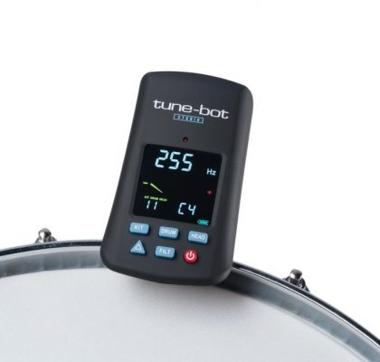 Overtone Tune-Bot elektronisk tromme-tuner