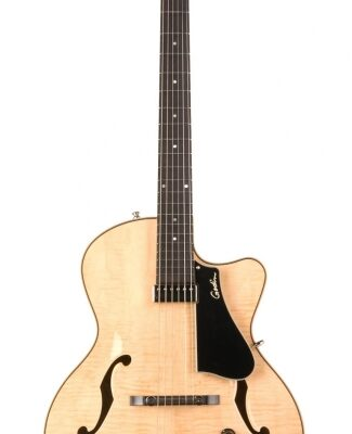 Godin 5th Avenue Jazz, Natural Flame HG m/tric case