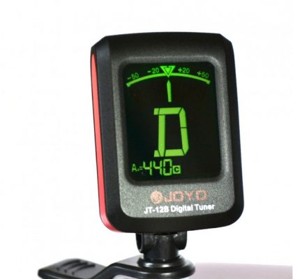 Joyo mini clip-on tuner m. oplyst display