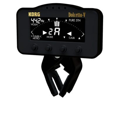 Korg Dolcetto clip-on tuner/metronom