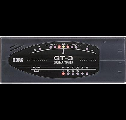Korg tuner til guitar og bas GT-3