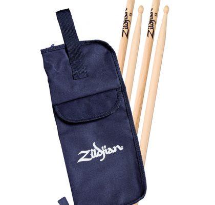 Zildjian 5A trommestikker, 2 sæt m. taske SDSP237