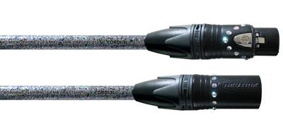 Cordial Crystal mikrofonkabel, 5 meter CSM5