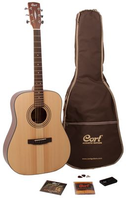 Cort Earth NS westernguitar pakke +