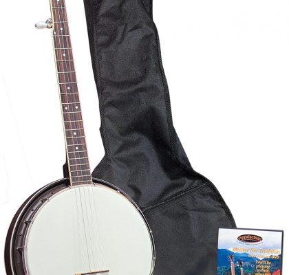 Saga Appalachian 5-strenget banjo pack GR37063
