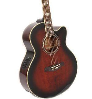 Ibanez halvakustisk guitar AEG10EVS 1201