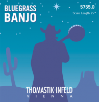 Thomastik banjostrenge, bluegrass, 4 stk. 5755,0