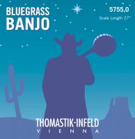 Thomastik banjostrenge, bluegrass, sæt.