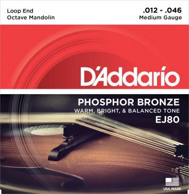 D'Addario strenge til oktav-mandolin, medium EJ80