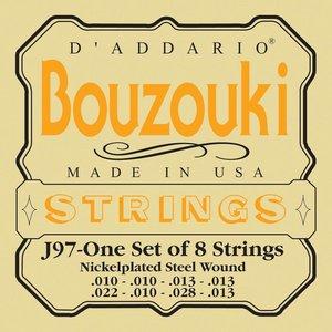 D'Addario bouzoukistrenge, græsk, 8 stk EJ97