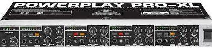 Powerplay Pro-XL forstærker/mixer til høretelefoner HA4700