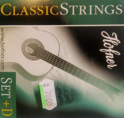 HÖFNER CLASSIC STRINGS + extra D-string