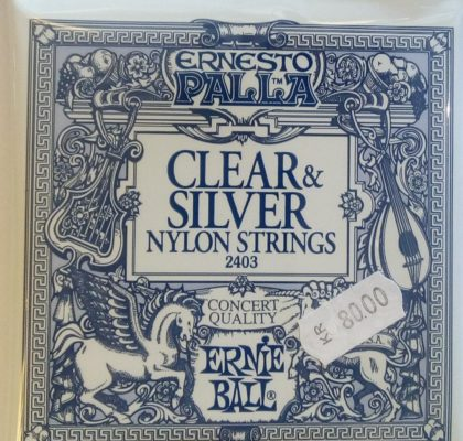 CLEAR & SILVER Nylon Strings 2403