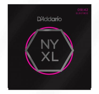 D'Addario NYXL Electric Guitar Strings, Super Light, 09-42