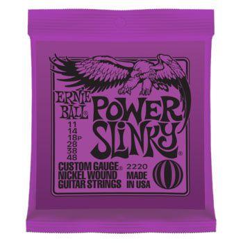 Ernie Ball 2220 Power Slinky el-guitar-strenge, 011-048