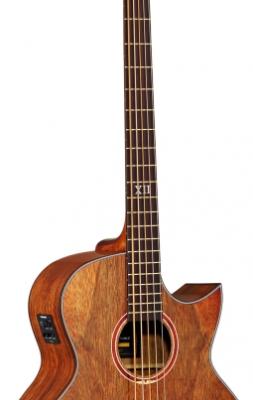 Ortega D3C-4 Akustisk bas inkl. gigbag