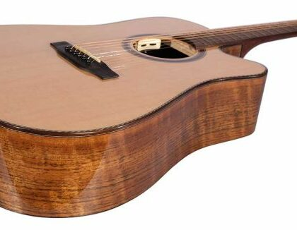 Tyma D-22CE westernguitar.