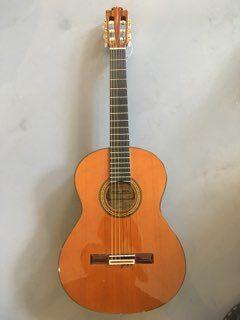 Jose Ma Vilaplana håndbygget klassisk guitar
